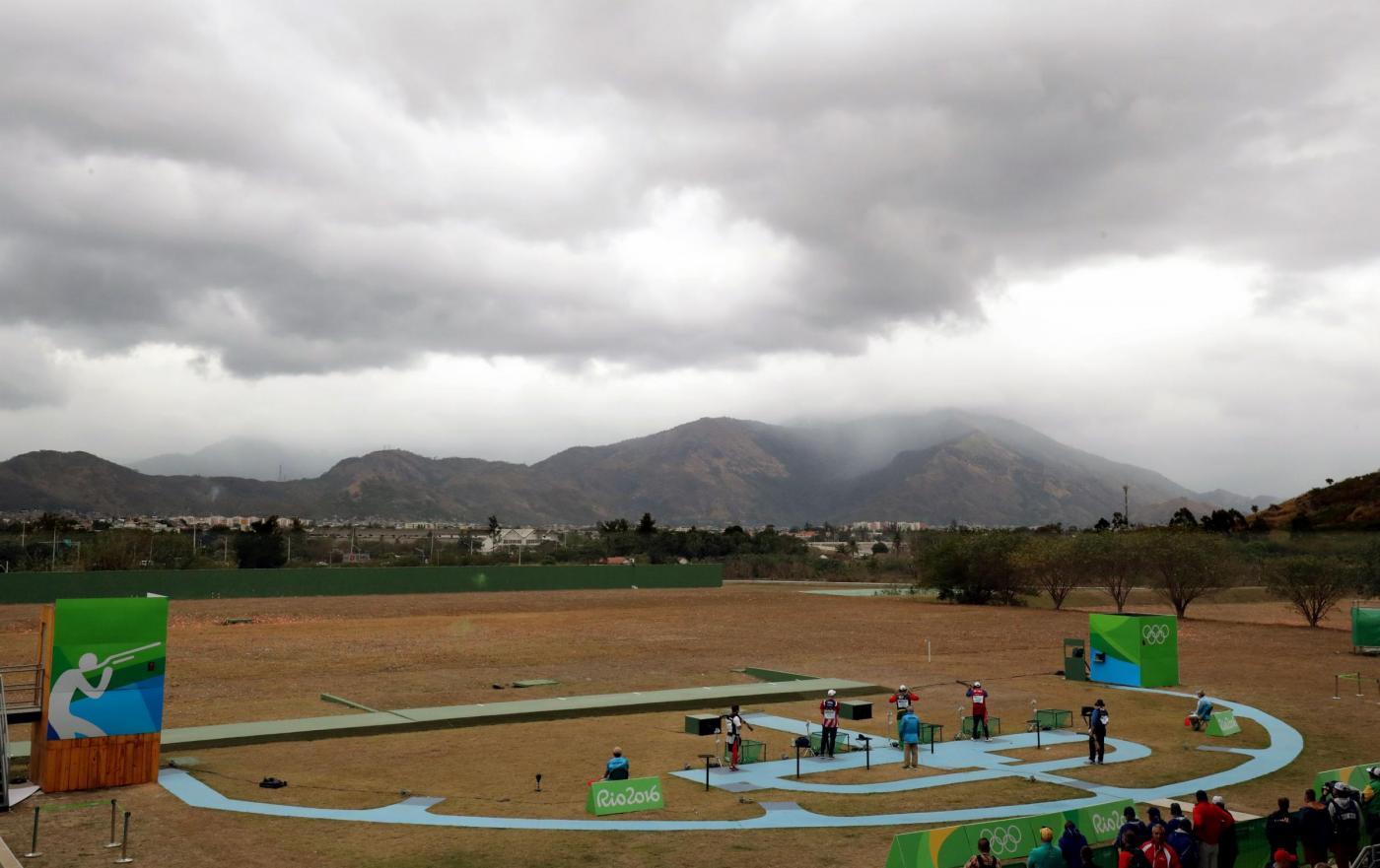 Olimpiadi 2016: argento nel double trap per Marco Innocenti