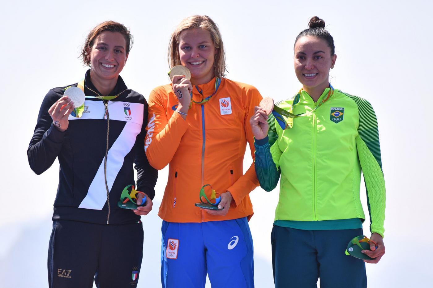 Olimpiadi 2016, nuoto: argento per Rachele Bruni nella 10km donne