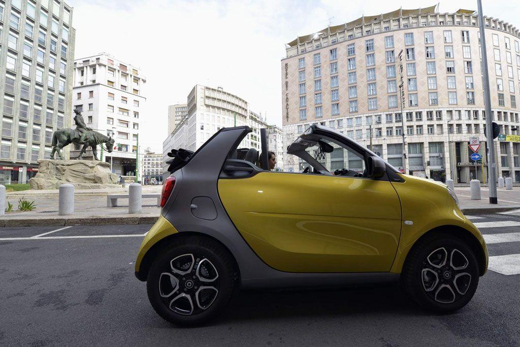 Smart Fortwo Cabrio ok