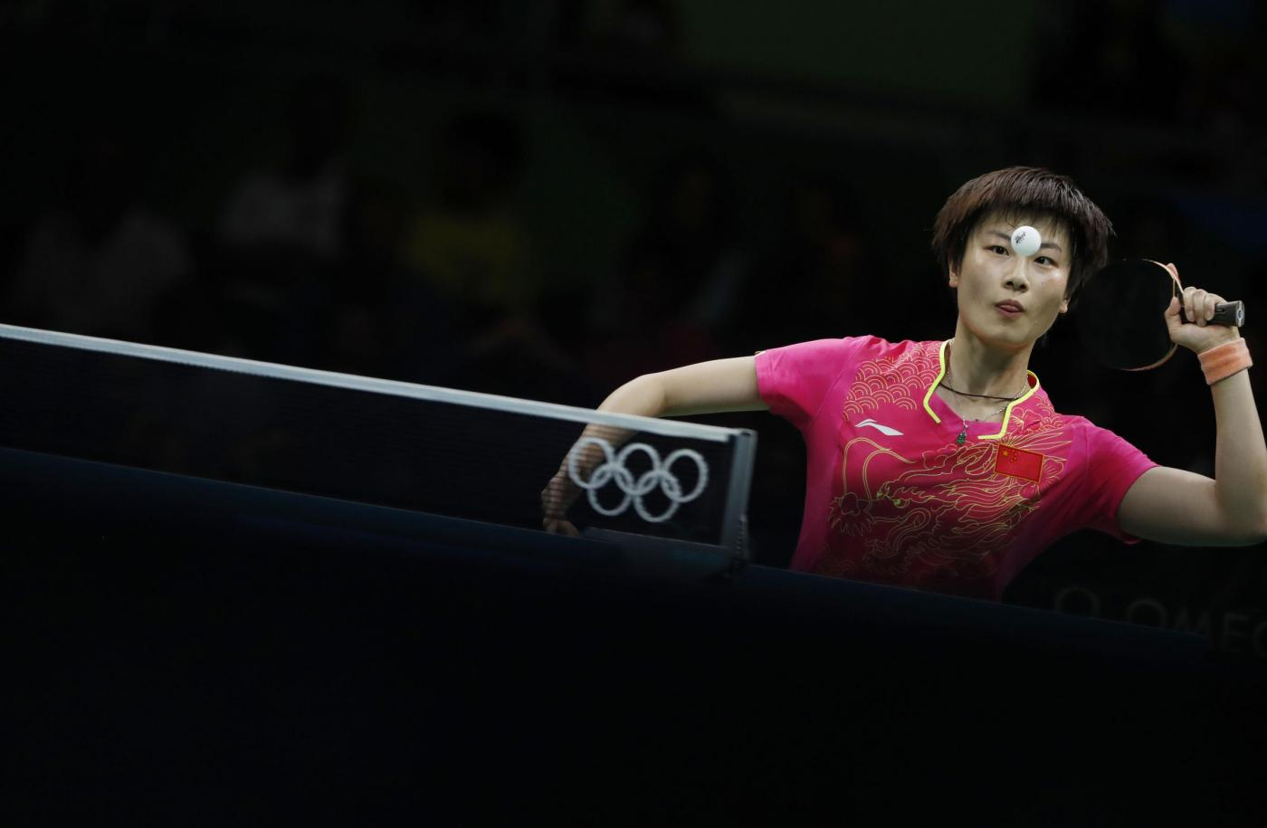 Rio 2016 ping pong : singolare maschile e femminile