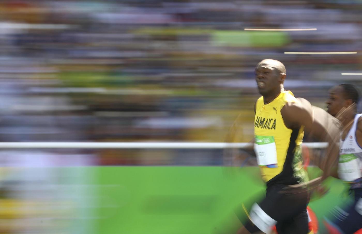 Atletica, esordio di Bolt alle Olimpiadi di Rio