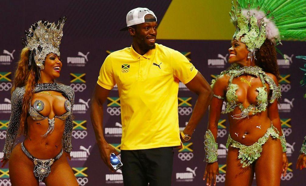 Usain Bolt balla la samba a Rio 2016