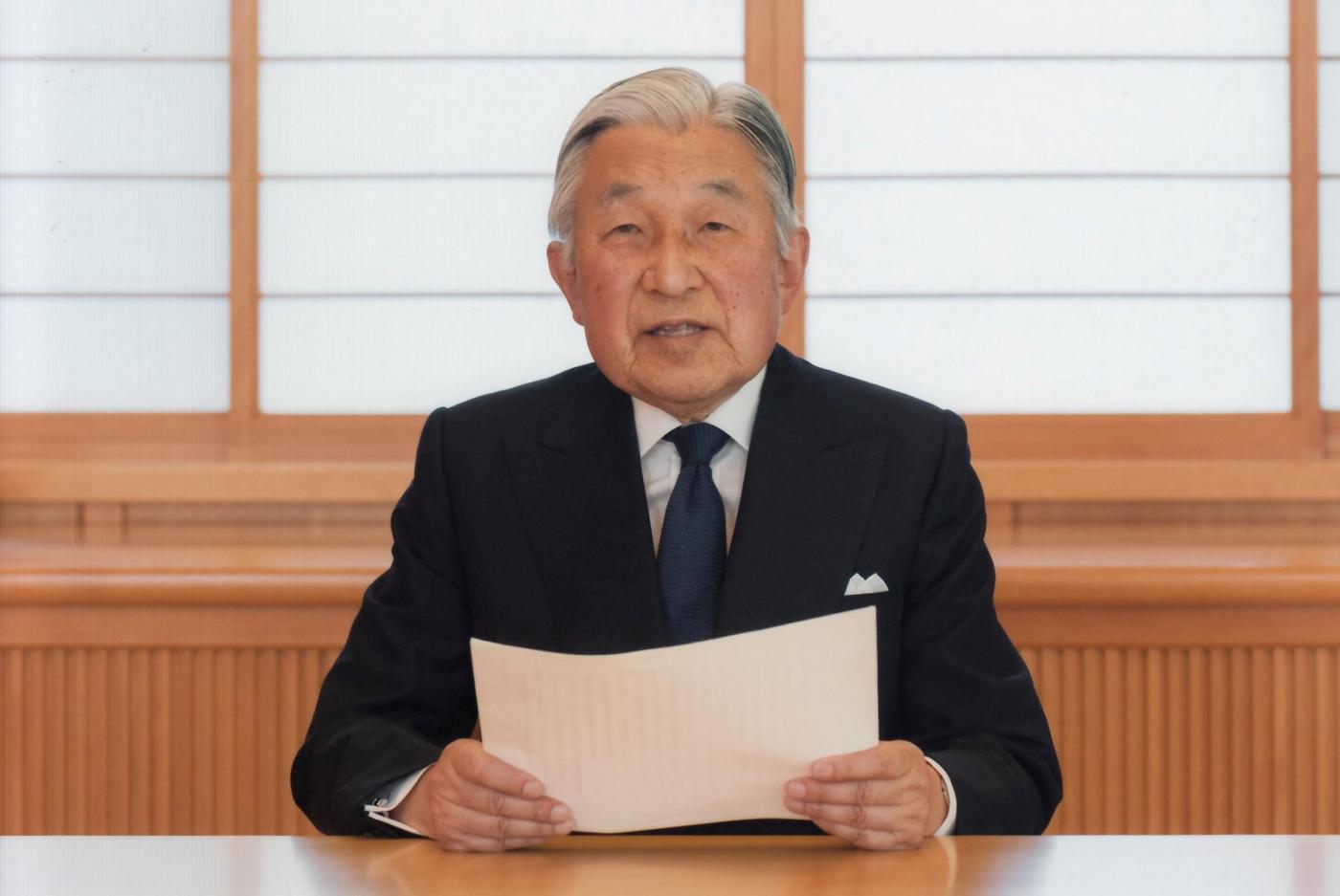 Tokyo, l'imperatore Akihito si rivolge alla nazione
