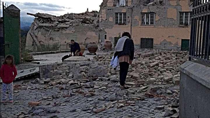 analisi del territorio sisma