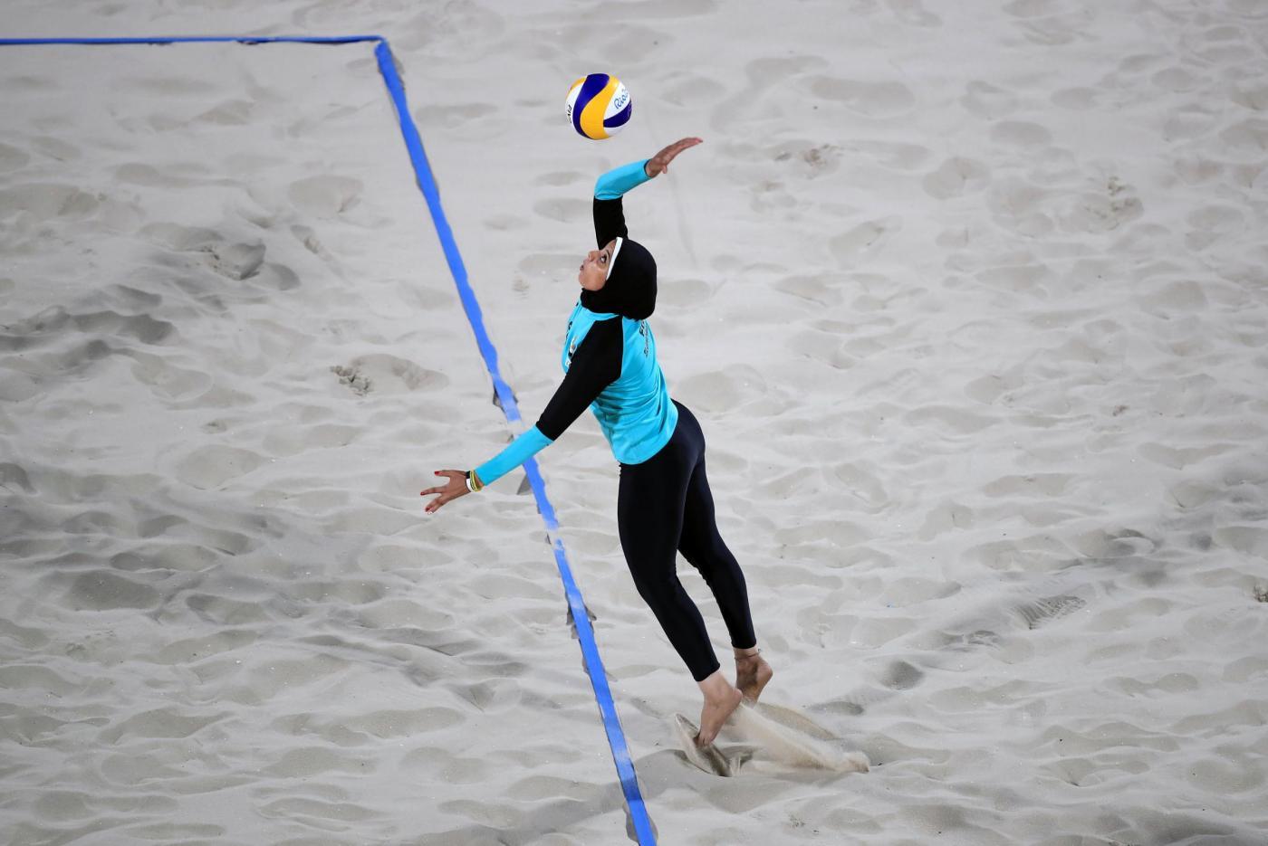 L'Egitto del beach volley tra sport e religione