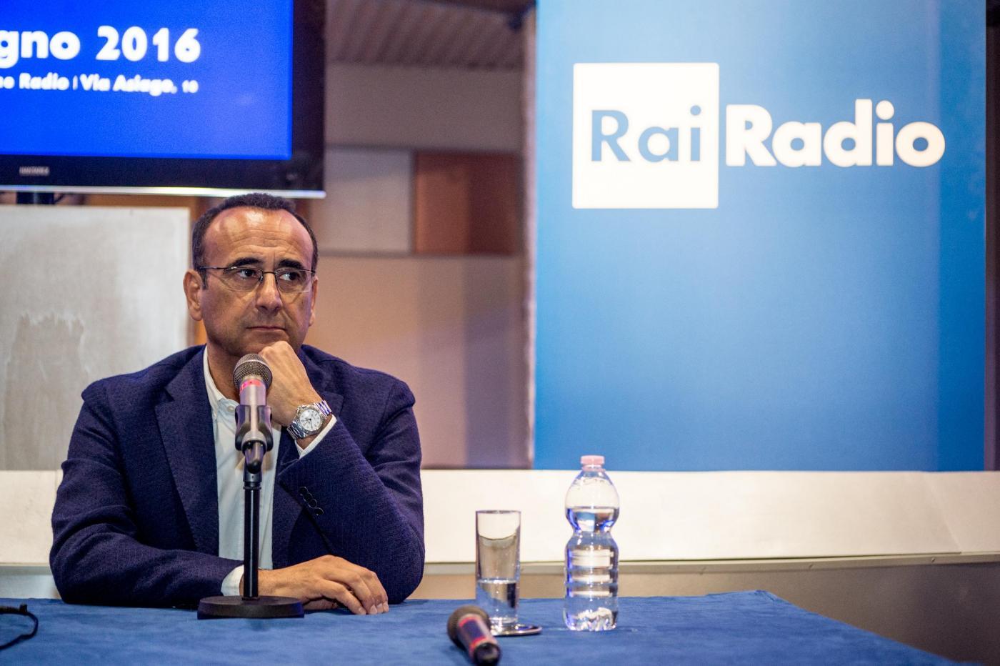 Carlo Conti: 'A Radio Rai2 programmi confermati. Il direttore artistico non comanda'