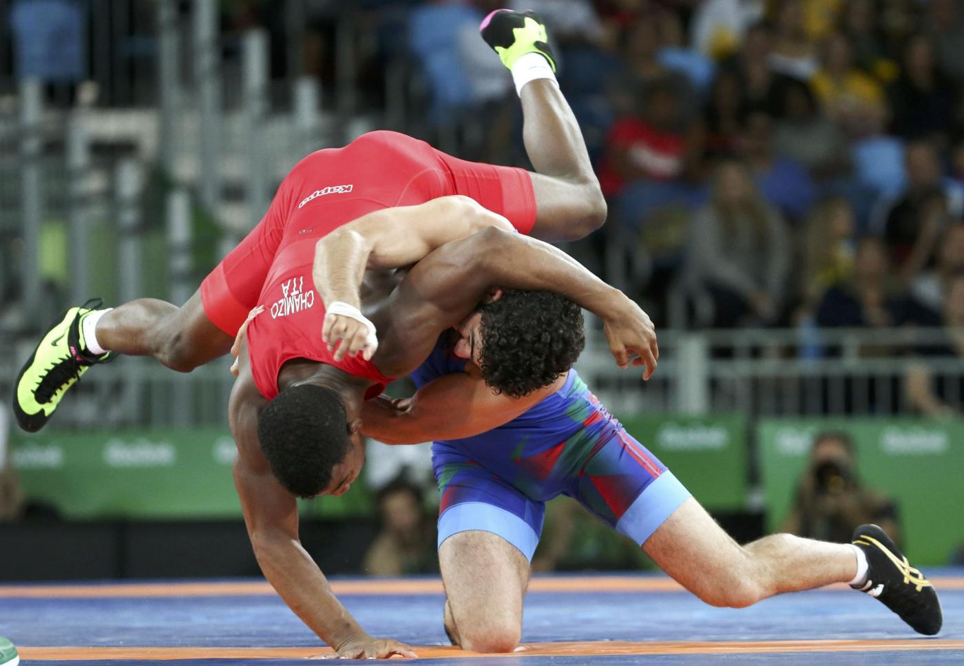 Olimpiadi 2016: Frank Chamizo bronzo nella Lotta Libera