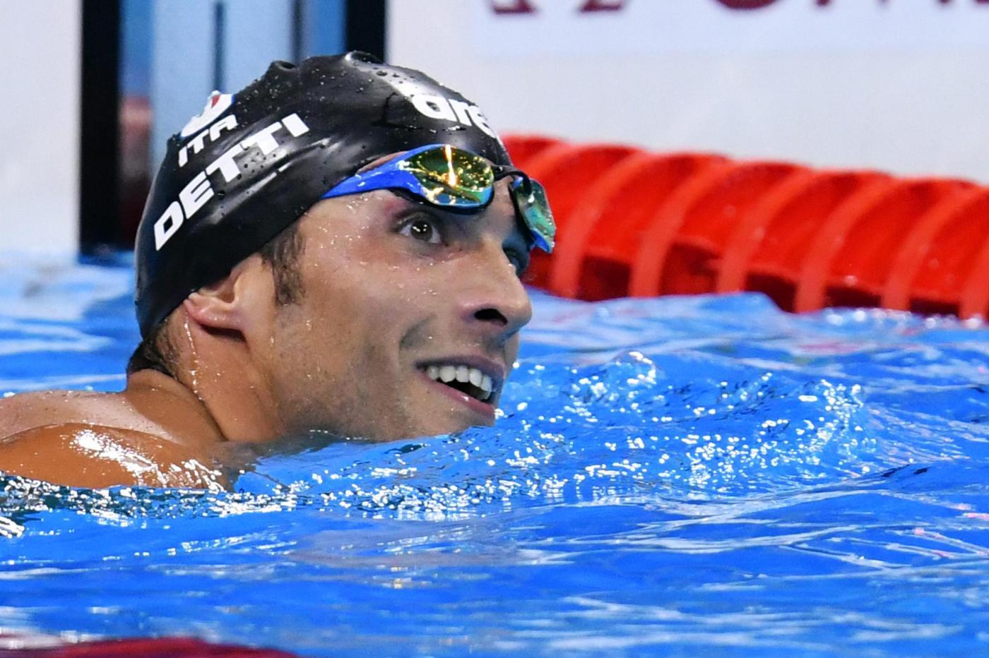 Olimpiadi 2016, nuoto: Detti vince il bronzo nei 400 stile libero