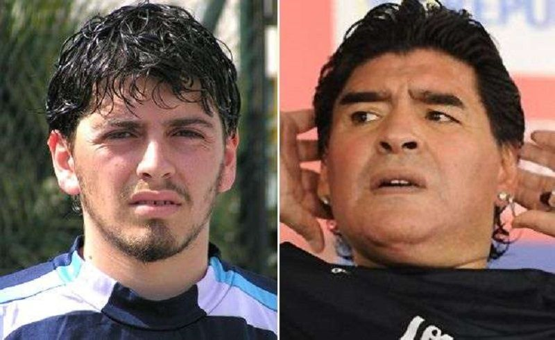 Maradona incontra suo figlio dopo 30 anni
