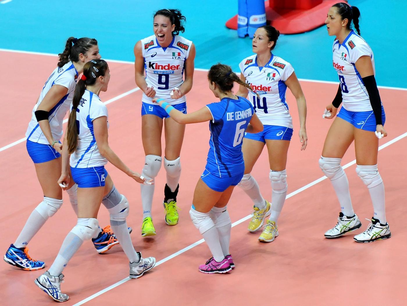 Italia vs Russia Campionati del mondo di volley
