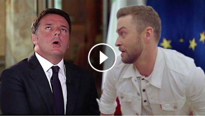 Matteo Renzi canta Justin Timberlake: il video fa il giro del web
