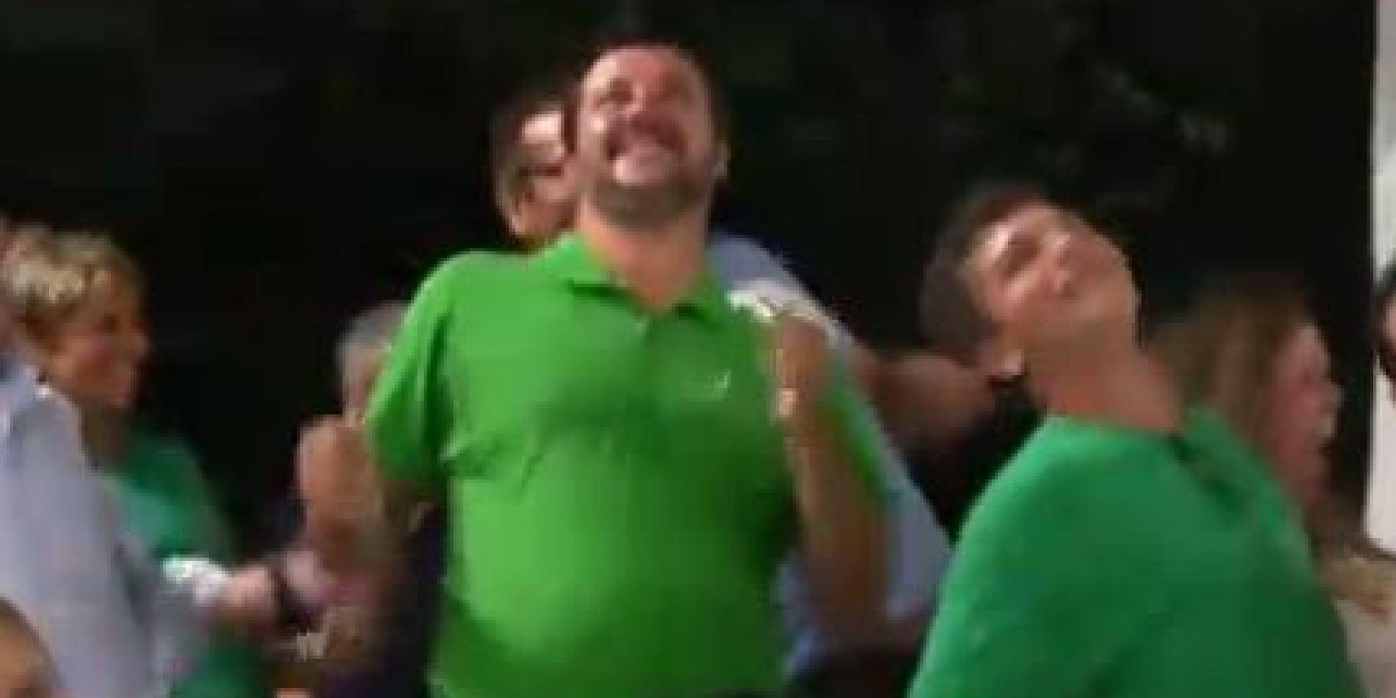 Matteo Salvini e il ballo scatenato sul tormentone dell'estate: 'Andiamo a governare'