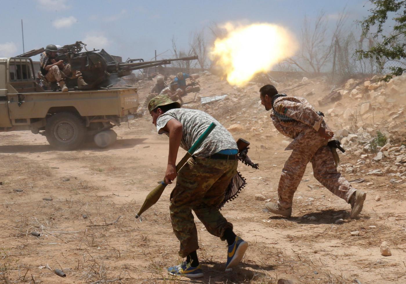 Libia, prosegue la lotta per Sirte: roccaforte dello Stato Islamico