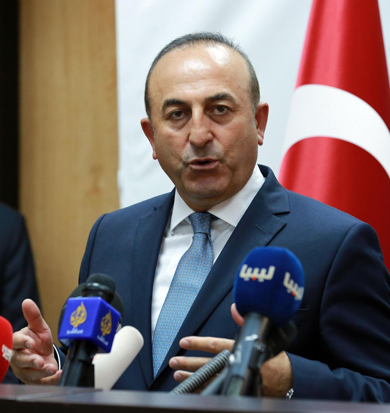 LIBYA TRIPOLI TURKEY PRESS CONFERENCE