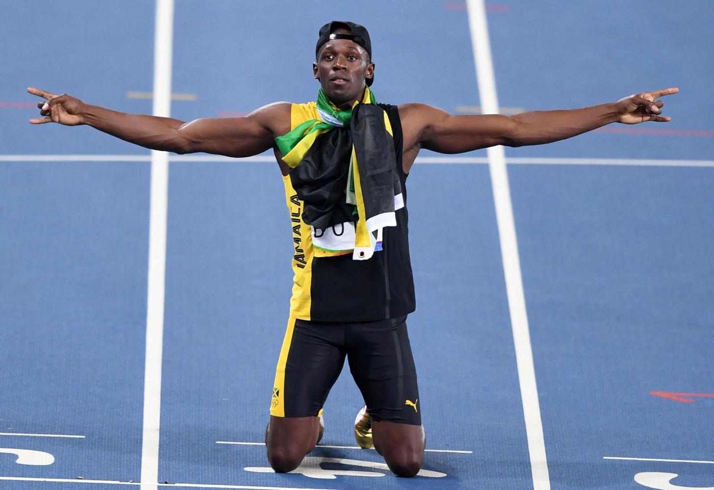 Rio 2016 Atletica, finale staffetta 4x100m maschile