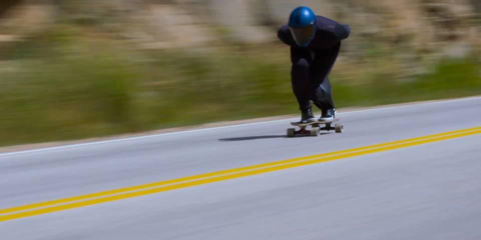 Kyle Wester, record di velocità sullo skateboard