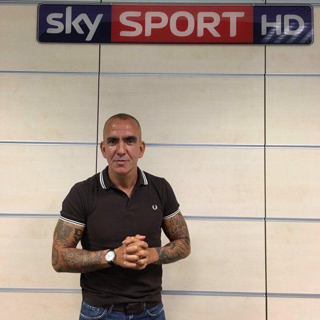 Paolo Di Canio tatuaggio in tv: Sky Sport sospende l'ex giocatore