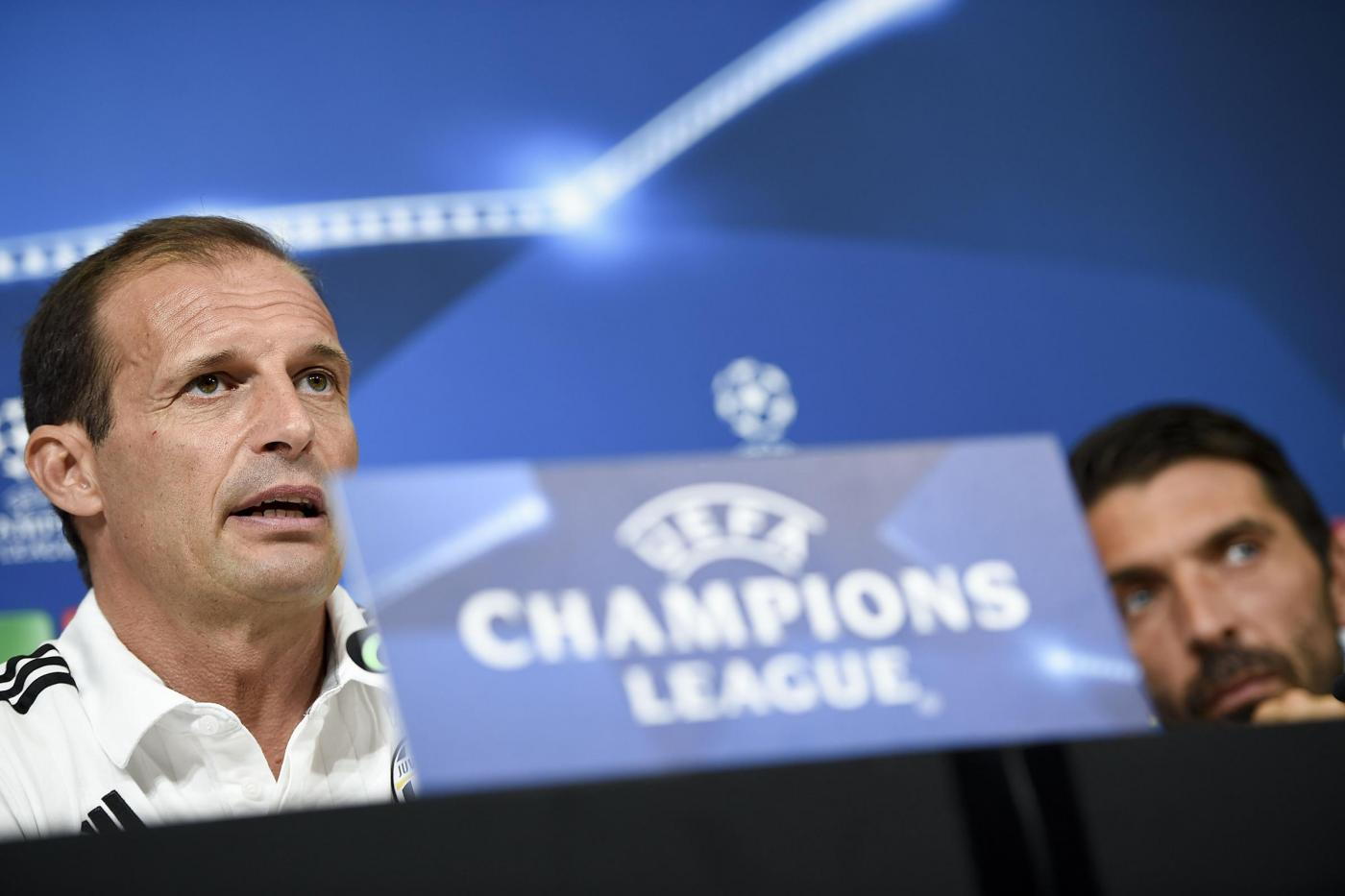 Champions, conferenza stampa Juventus
