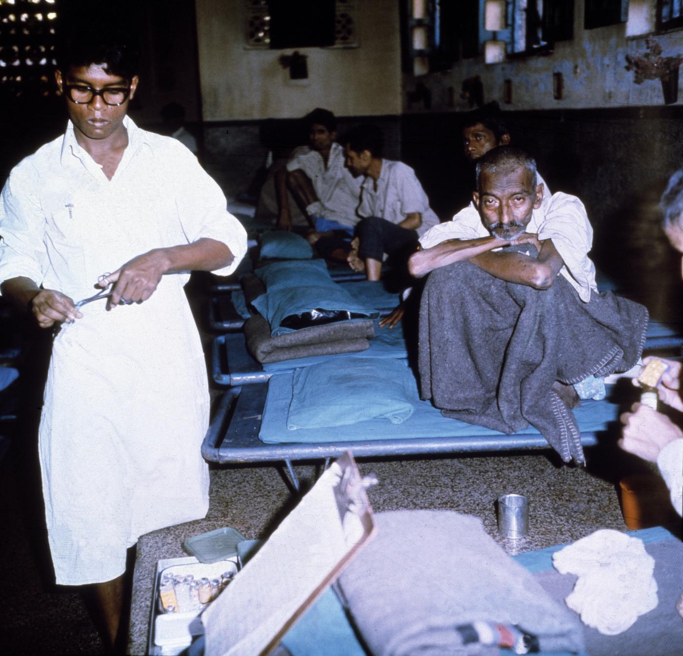 Uno degli ospedali di Madre Teresa
