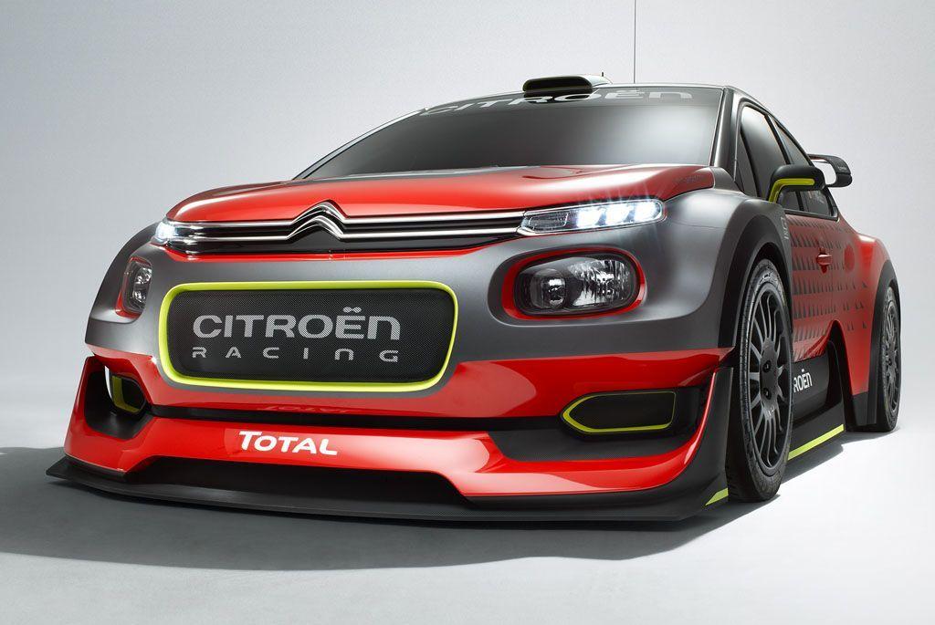 Salone di Parigi 2016: la Citroën porterà la C3 WRC Concept