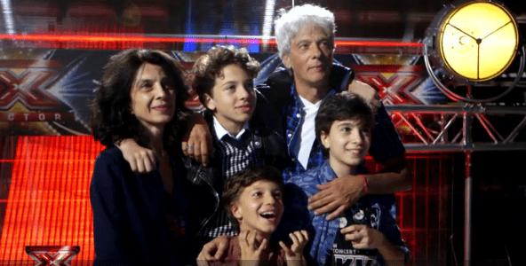 Famiglia Orlandi a X Factor 10