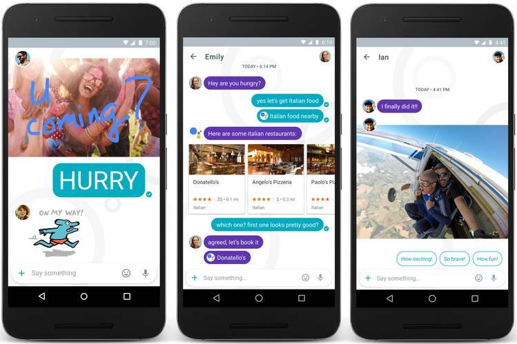 Google Allo, l'app di messaggistica lanciata da Big G