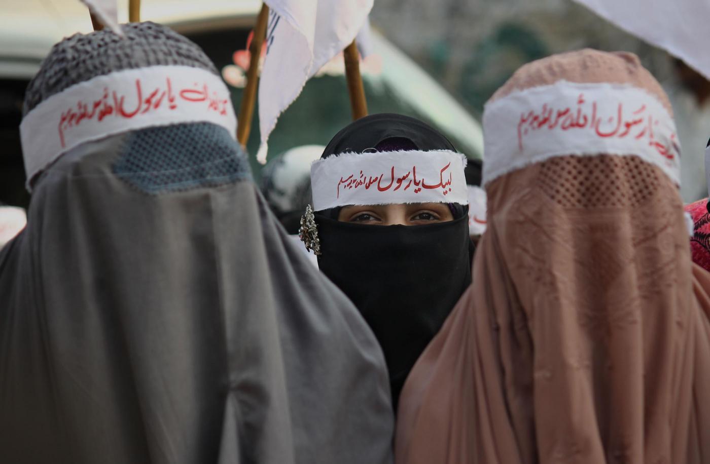 L'Isis vieta il burqa a Mosul per motivi di sicurezza
