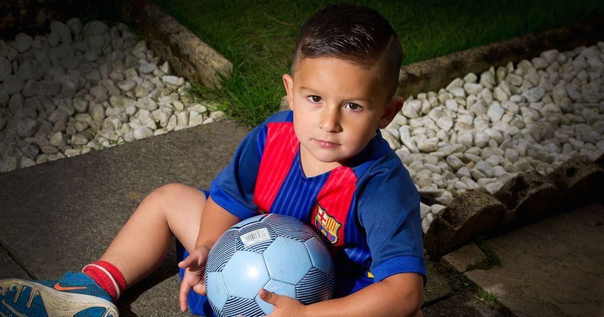 Jaxon Lal, a 3 anni è già nel mirino dei grandi club