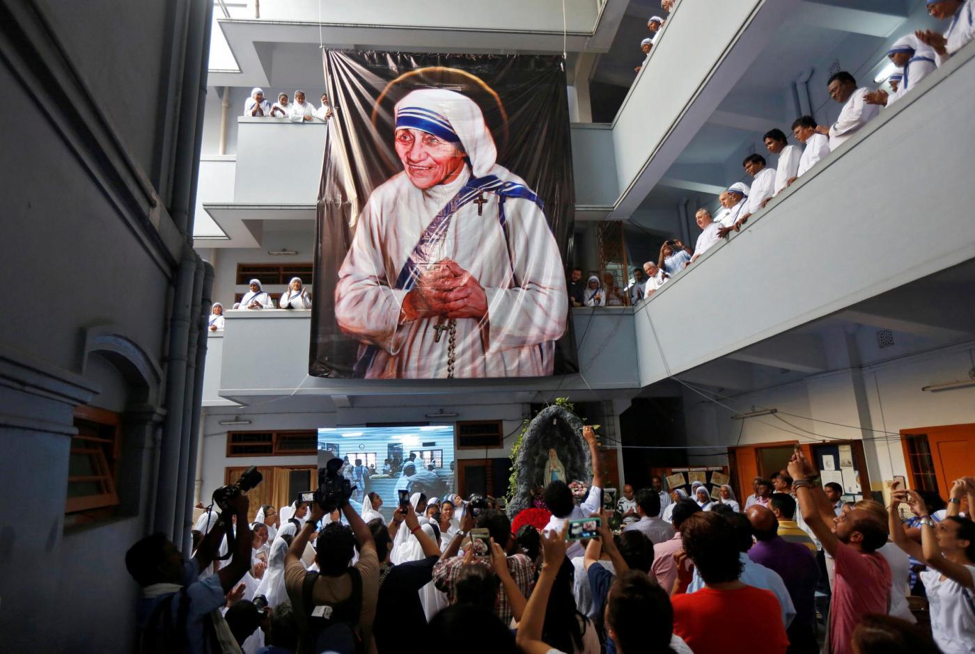 Calcutta, l'anniversario della morte di Madre Teresa