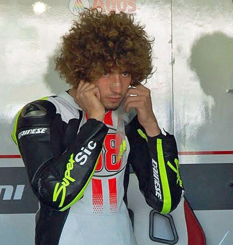 Marco Simoncelli - ritirato il numero 58