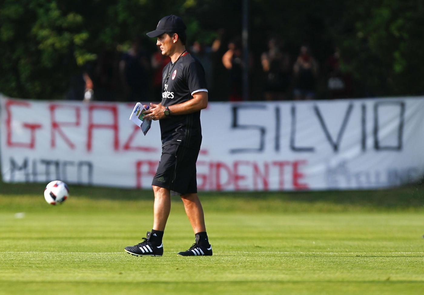 Ritiro pre campionato Ac Milan