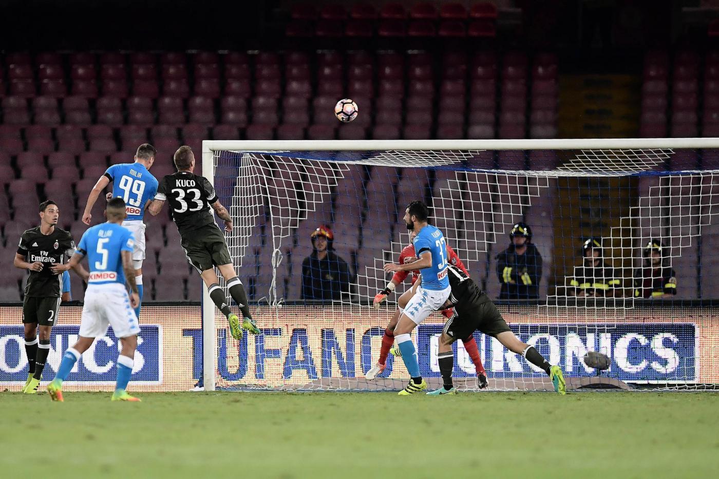 SSC Napoli vs AC Milan