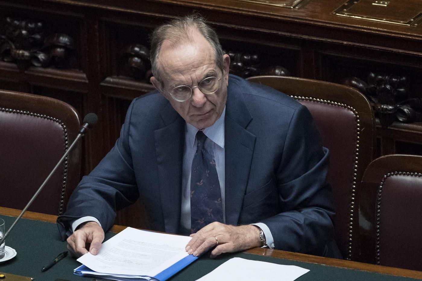 Roma, informativa urgente del governo sullo stato del sistema bancario