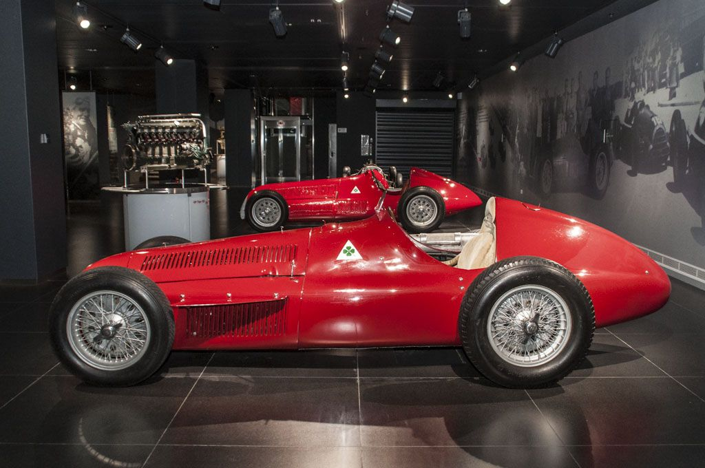 Quadrifoglio Alfa Romeo Alfetta 159 1951