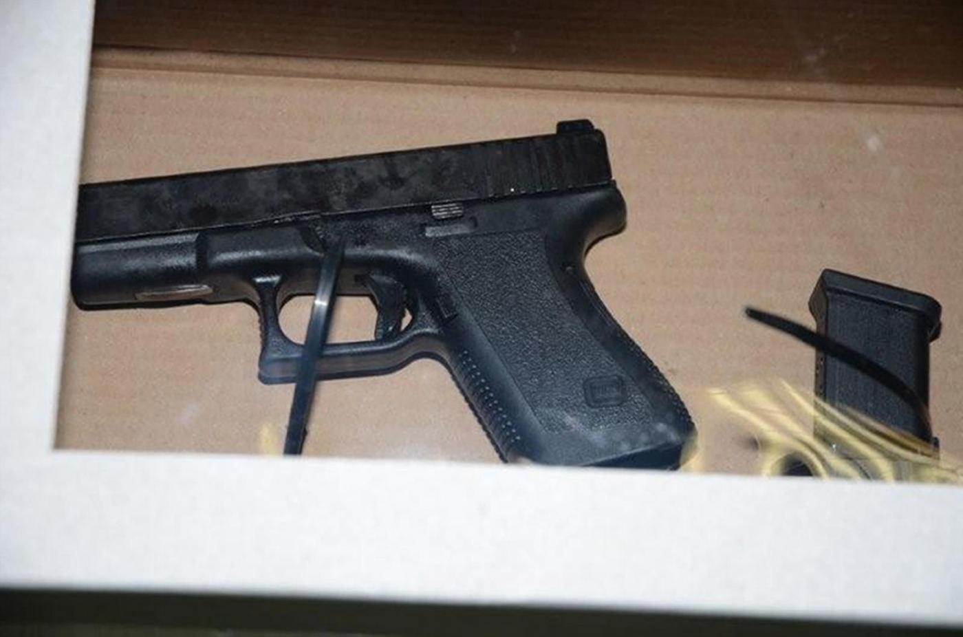 Guns recovered