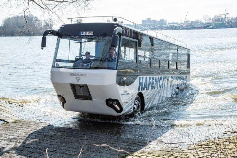 autobus anfibio amburgo