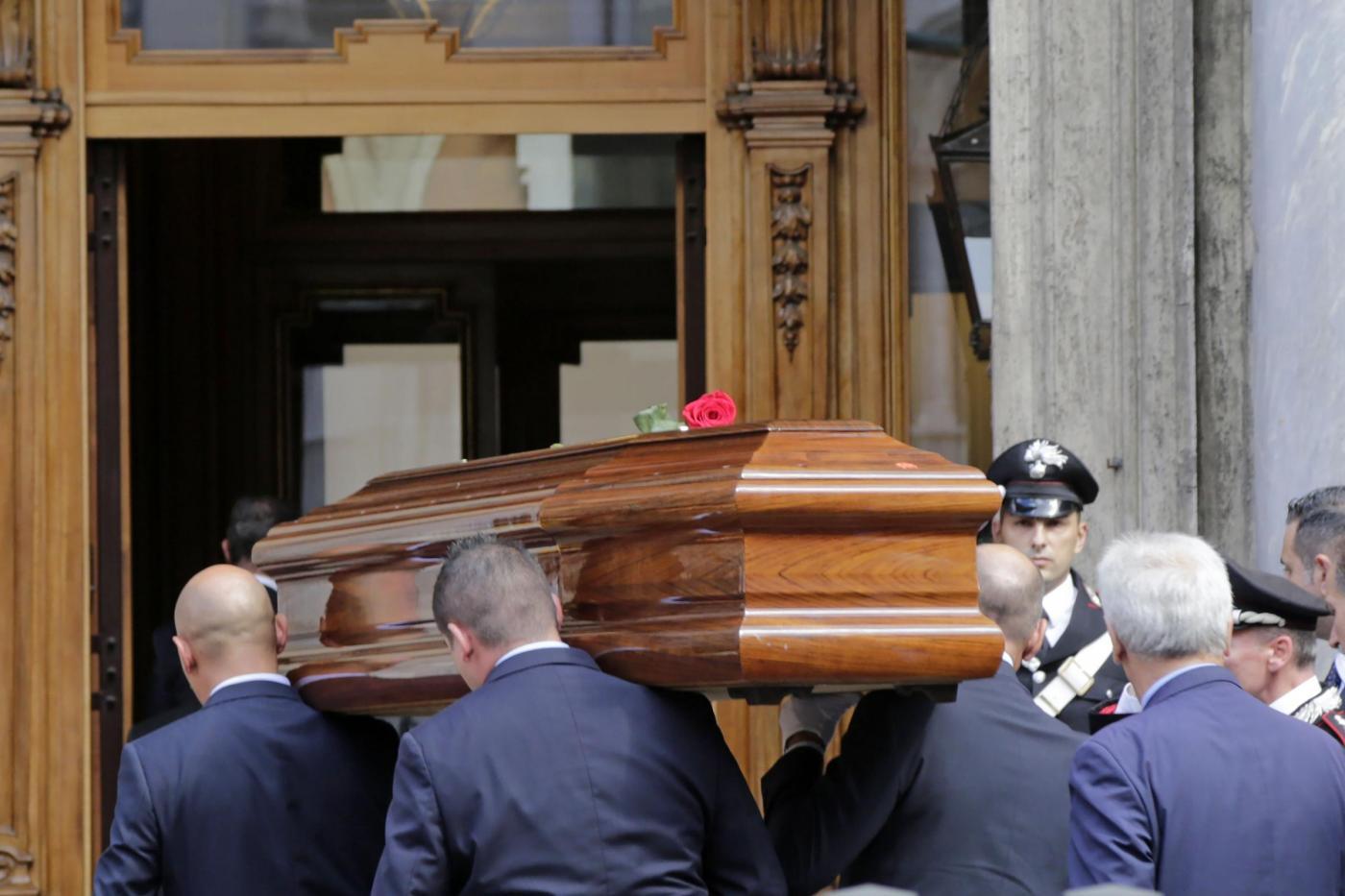 Carlo Azeglio Ciampi, i funerali del presidente emerito a Roma