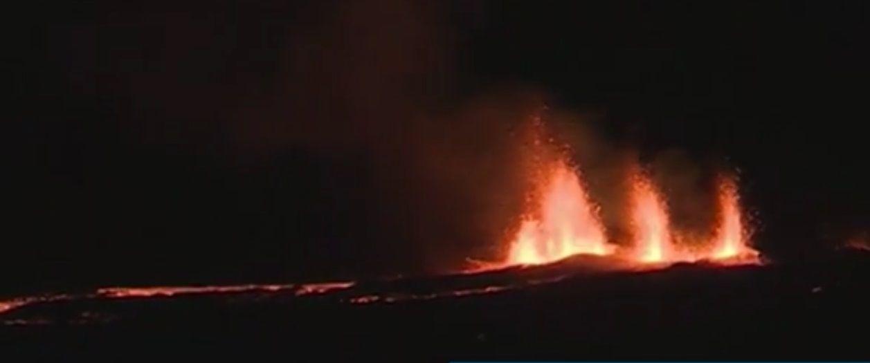 eruzione isola reunion