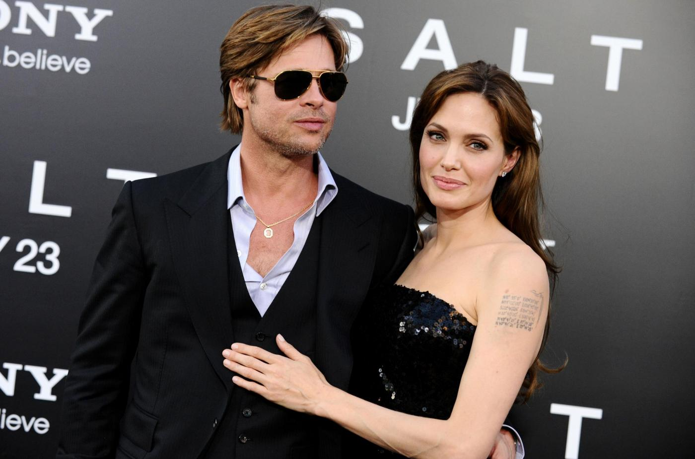 I figli di Brad Pitt e Angelina Jolie sarebbero senza controllo