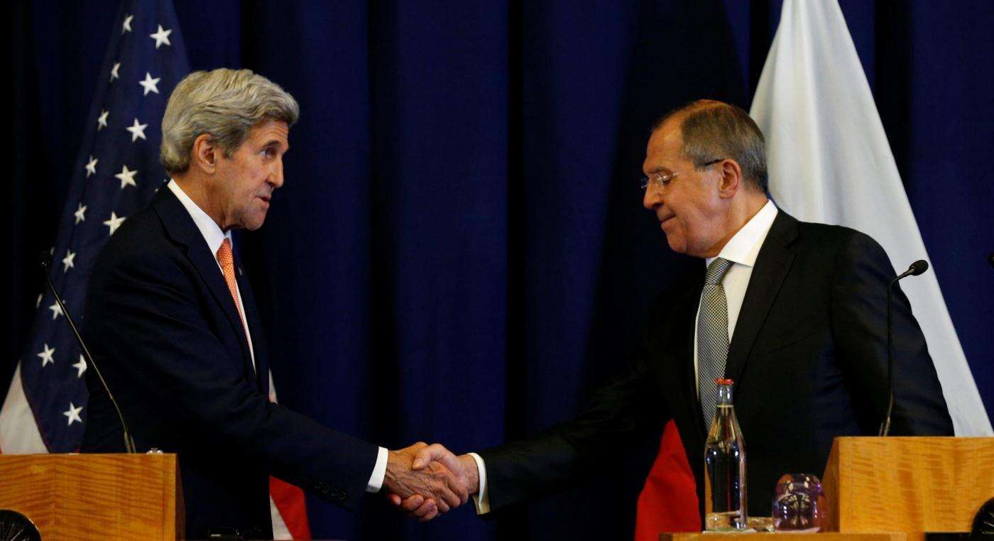 Ginevra kerry e Lavrov