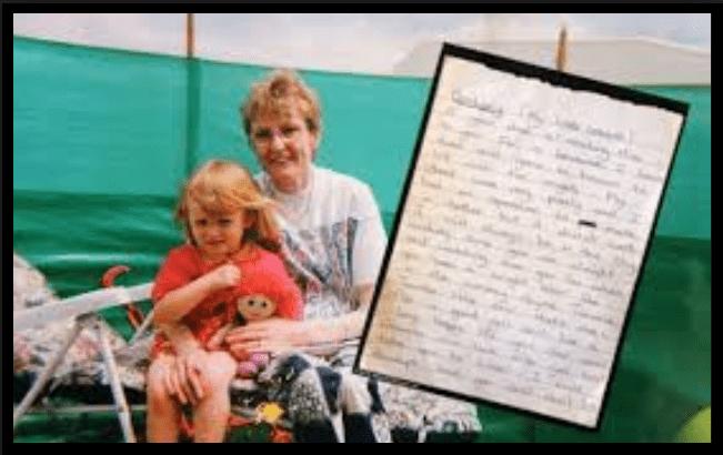 La commovente lettera di una madre morente alla figlia, trovata dopo 15 anni