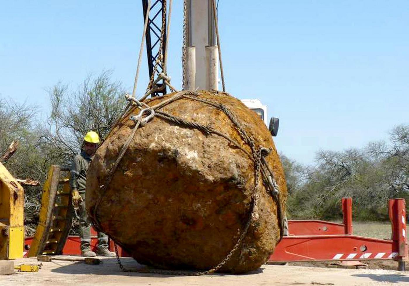 Argentina, scoperto meteorite di 30 tonnellate