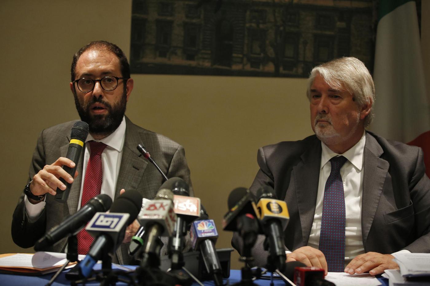 Conferenza stampa a margine dell'incontro tra Governo e sindacati su pensioni e lavoro