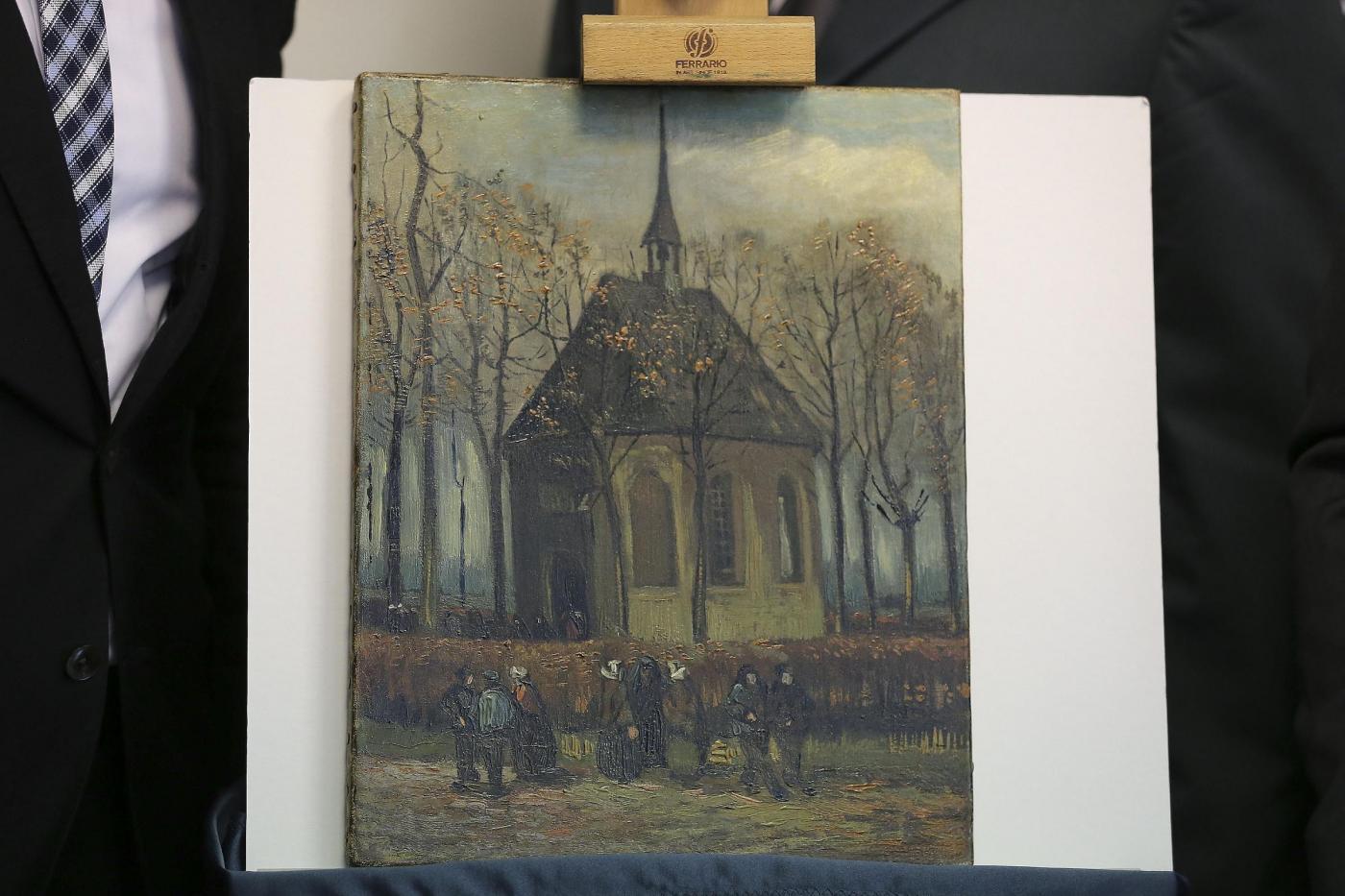 Napoli, recuperati due quadri di Van Gogh dalla Guardia di Finanza