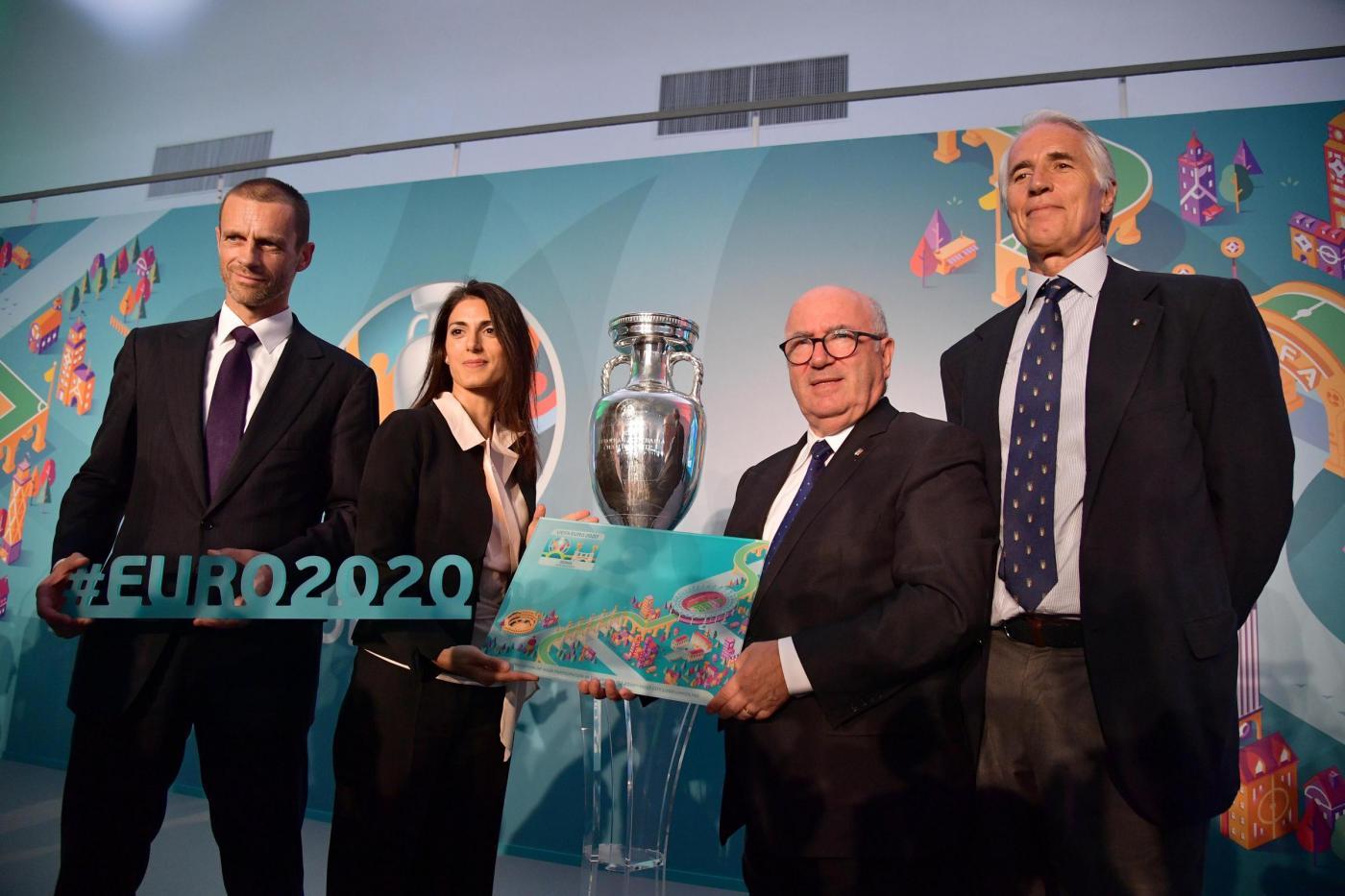Presentazione logo UEFA EURO ROMA 2020