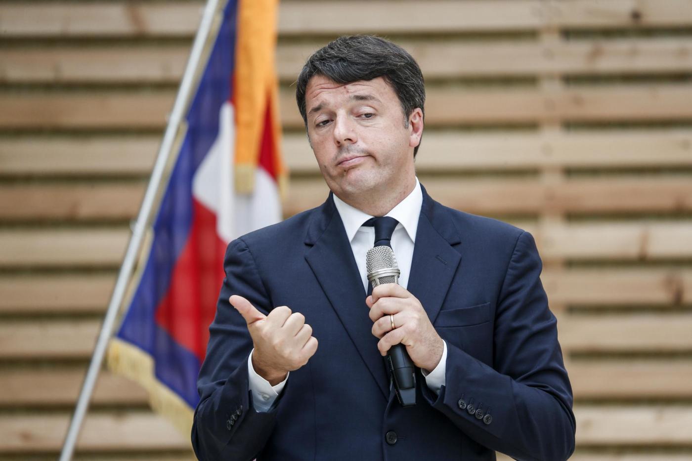 Mondovì, Renzi visita il nuovo Polo Scolastico