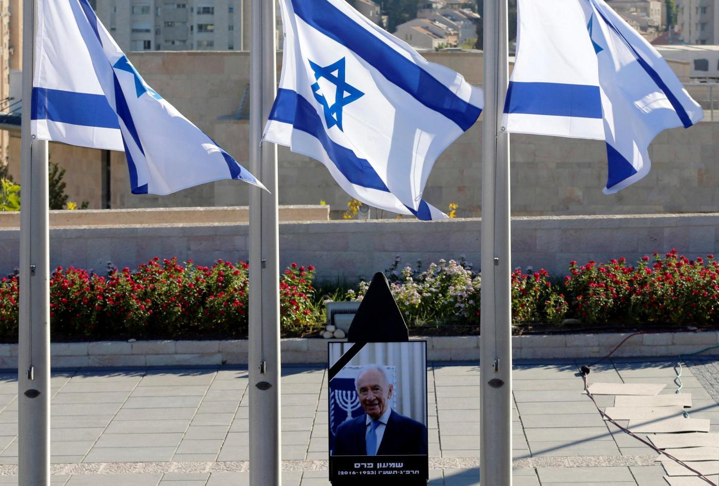 Funerali di Shimon Peres, i grandi del mondo salutano l'ex presidente israeliano