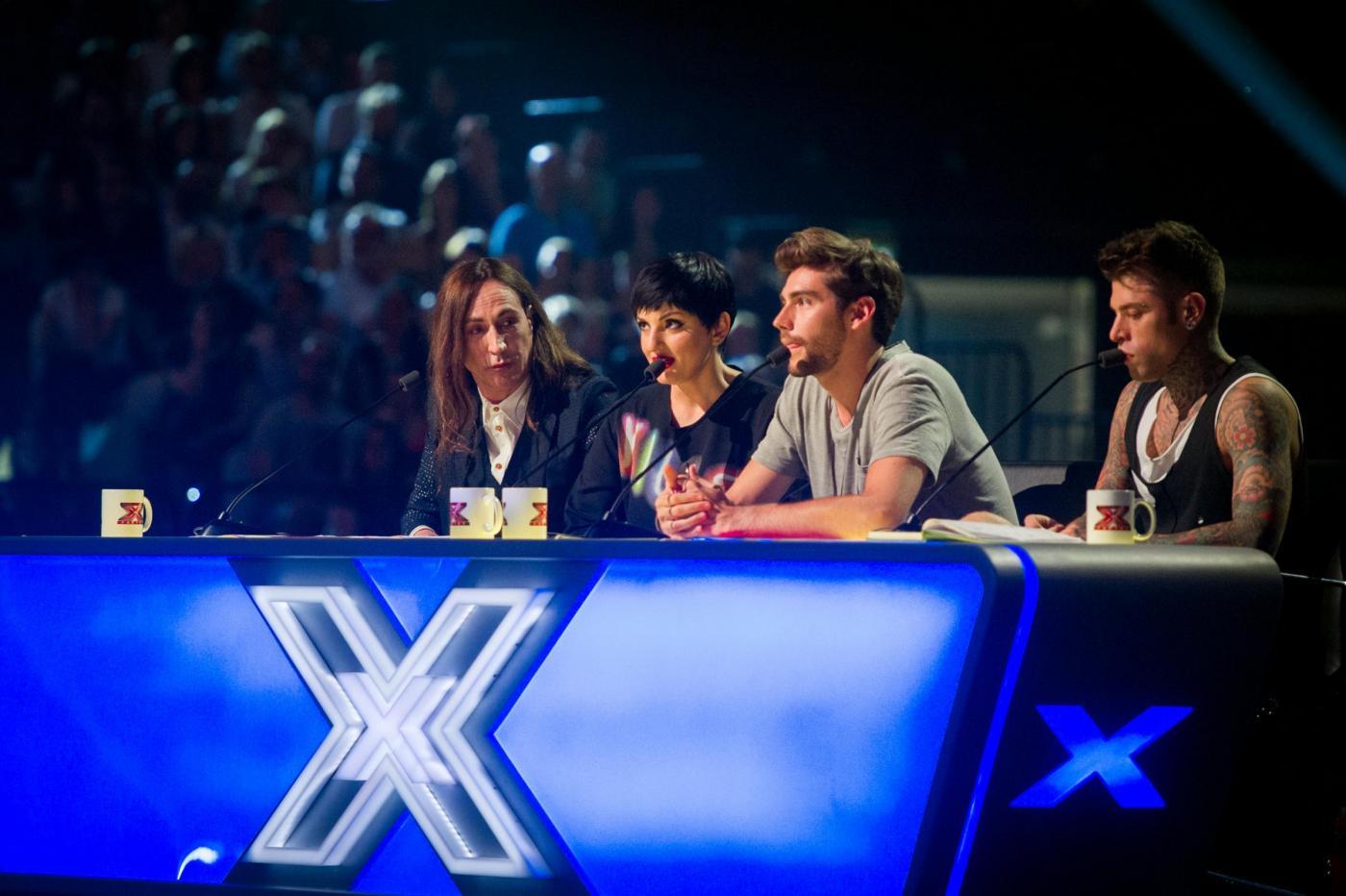 Audizioni trasmissione televisiva X Factor Unipol Arena