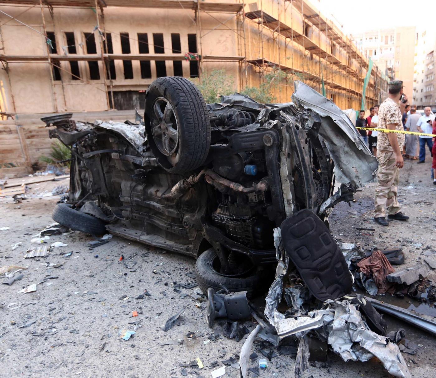 Autobomba a Tripoli