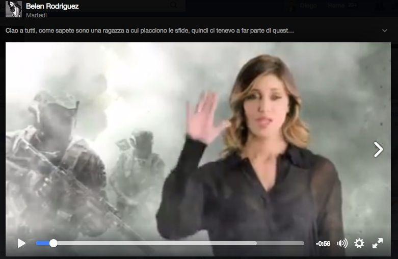 Belen testimonial (annoiata) di Call of Duty Infinite Warfare Challenge